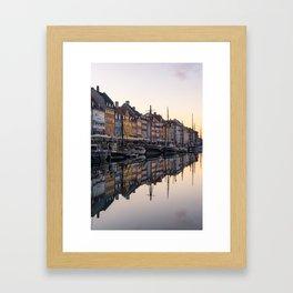 COPENHAGEN 02 Framed Art Print