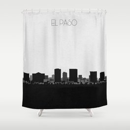 City Skylines: El Paso Shower Curtain