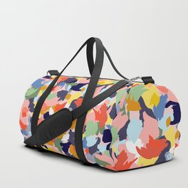 Bright Paint Blobs Duffle Bag