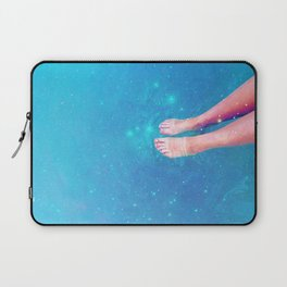 Retro Space Swim Laptop Sleeve