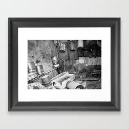 Ancient Shed Framed Art Print