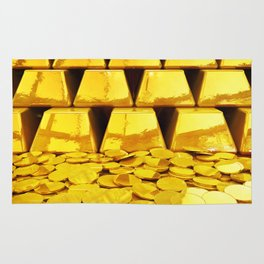 Gold investment Rug