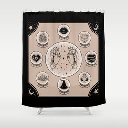 Witch Accessories Shower Curtain