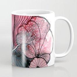 alcohol ink - posca flowers Coffee Mug