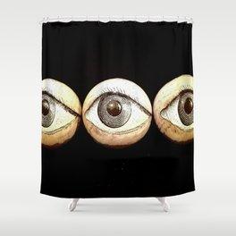 Three Eyes Watching You, Eyeballs Shower Curtain