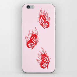 Give Me Butterflies iPhone Skin