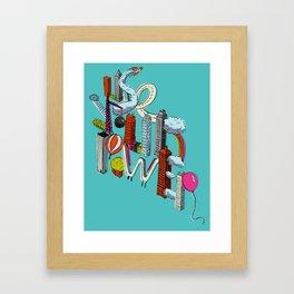 Use Your Power Framed Art Print