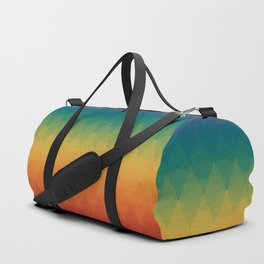 Colorful Geometry Pattern Abstract Rainbow Trendy Color Duffle Bag