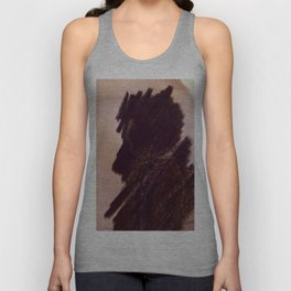 Shadow couple Unisex Tank Top