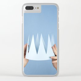 Coronation day Clear iPhone Case
