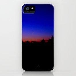 Moon at Dusk iPhone Case