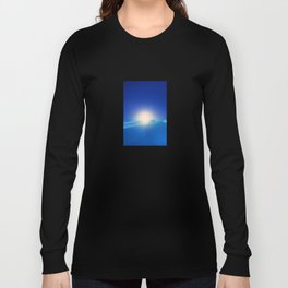 Ice Cold Blue Long Sleeve T-shirt