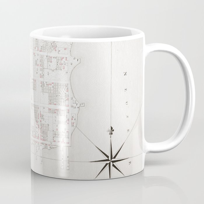 Vintage Map Of New Bern Nc 1769 Coffee Mug By Bravuramedia Society6