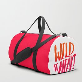 Wild At Heart x Typography Flame Ombre Duffle Bag