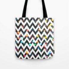 Chevron Sparkles Tote Bag