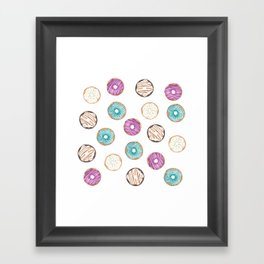 Lots a Donuts Framed Art Print
