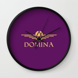 Call me Domina Wall Clock