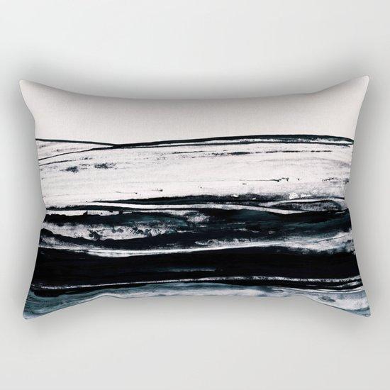 abstract minimalist landscape 9 Rectangular Pillow