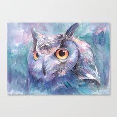 Illusive Owl Canvas Print