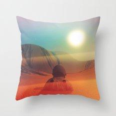 Sundazed Throw Pillow