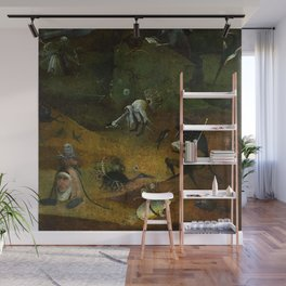 "Hieronymus Bosch ""Hermit Saints Triptych"" - Saint Giles - detail Wall Mural"