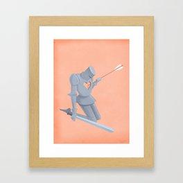 Weak Spot Framed Art Print