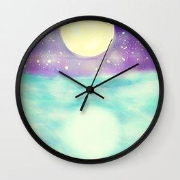 Clear Open Waters Wall Clock