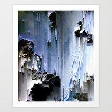 The originator (Cliffs) Art Print