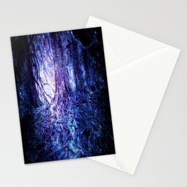 The Wishing Tree : Purple Blue Stationery Cards