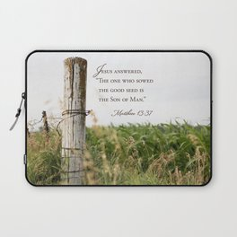 Sow the Good Seed Laptop Sleeve