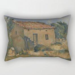 Abandoned House near Aix-en-Provence Rectangular Pillow