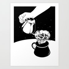 Drip to Dream Art Print