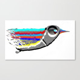 Dimension Bird Canvas Print
