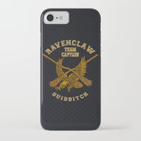 quidditch iPhone & iPod Cases featuring Ravenclaw quidditch team iPhone 4 4s 5 5c, ipod, ipad, pillow case, tshirt and mugs by Three Second