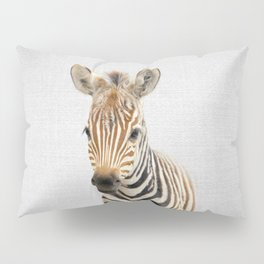 Baby Zebra - Colorful Pillow Sham
