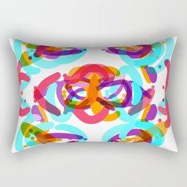 Abstract colorful Rectangular Pillow