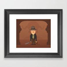 Indy Framed Art Print