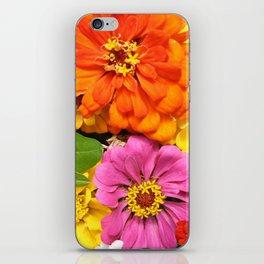Farmer's Market Flowers iPhone Skin