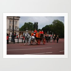 The Royal Carriage 12 Art Print