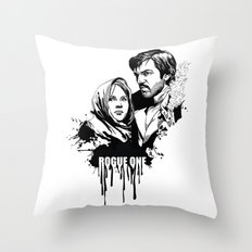 Fandom In Ink » Rogue One Throw Pillow