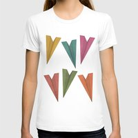 planes T-shirts featuring Paper Planes by coalotte