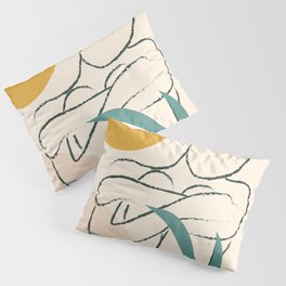Minimal Line in Nature I Pillow Sham