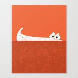 Mark's Superpower: cat Superstretch Canvas Print