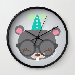 Castor - Collection Dandynimo's -  Wall Clock