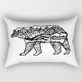 Bear Necessities Rectangular Pillow