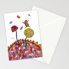 Welcome Autumn Stationery Cards