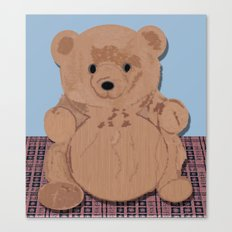 Wes T. Bear Canvas Print