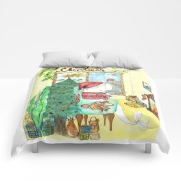 Moby's Christmas Comforters