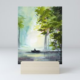 Learning to Navigate Mini Art Print