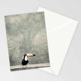 bohemian toucan Stationery Cards
